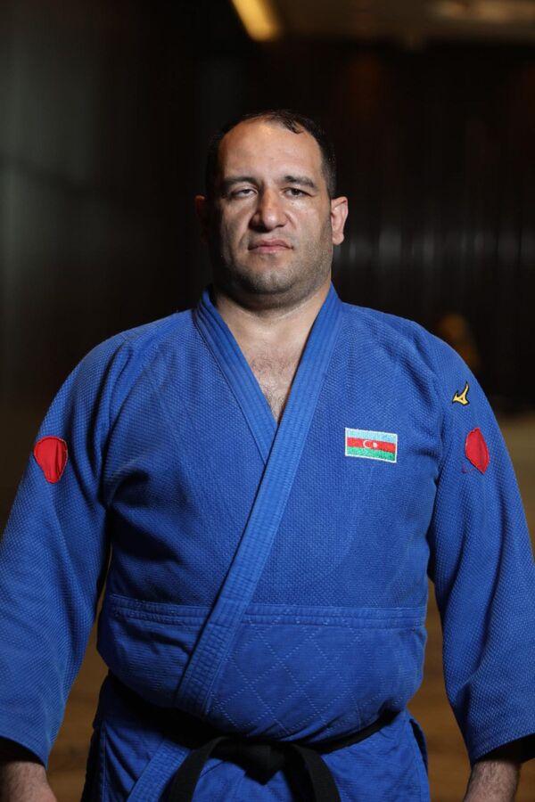 Дзюдоист Ильхам Закиев (свыше 100 килограммов) - бронзовый призер Паралимпийских игр Токио -2020. - Sputnik Азербайджан