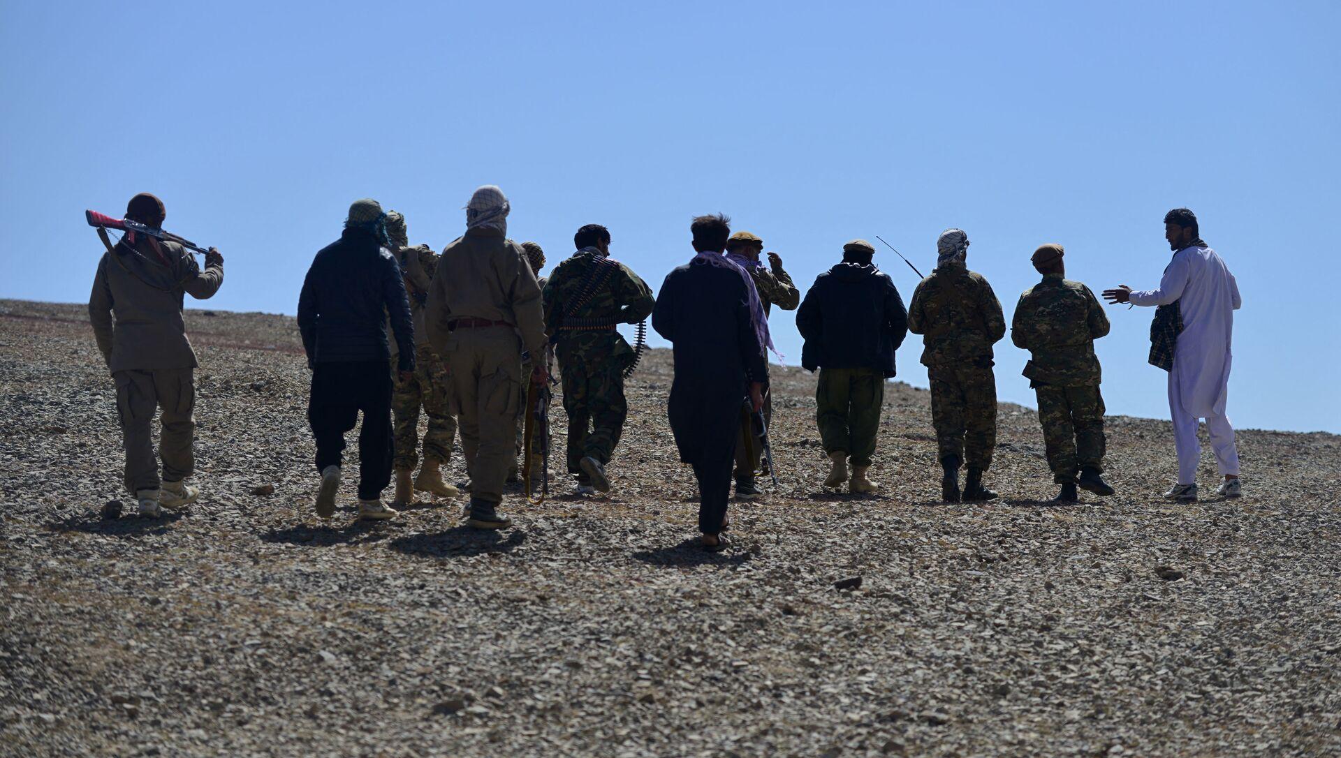 Силы сопротивления талибам (террористическая организация, запрещена в РФ) - Sputnik Azərbaycan, 1920, 07.09.2021