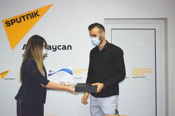 Второе место занял Садраддин Агджаев. - Sputnik Азербайджан