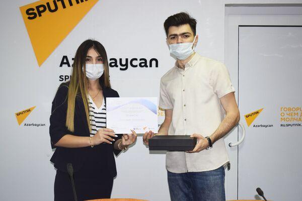 Третье место занял Алигусейн Гулу-заде. - Sputnik Азербайджан