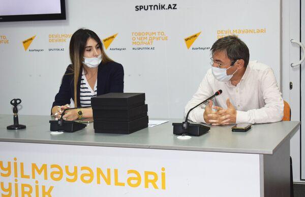 Всего на конкурс было прислано около сорока заявок от молодых журналистов и специалистов из стран Южного Кавказа в возрасте от 18 до 35 лет. - Sputnik Азербайджан
