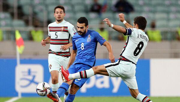 Отборочный раунд чемпионата мира между сборными Азербайджана и Португалии - Sputnik Азербайджан