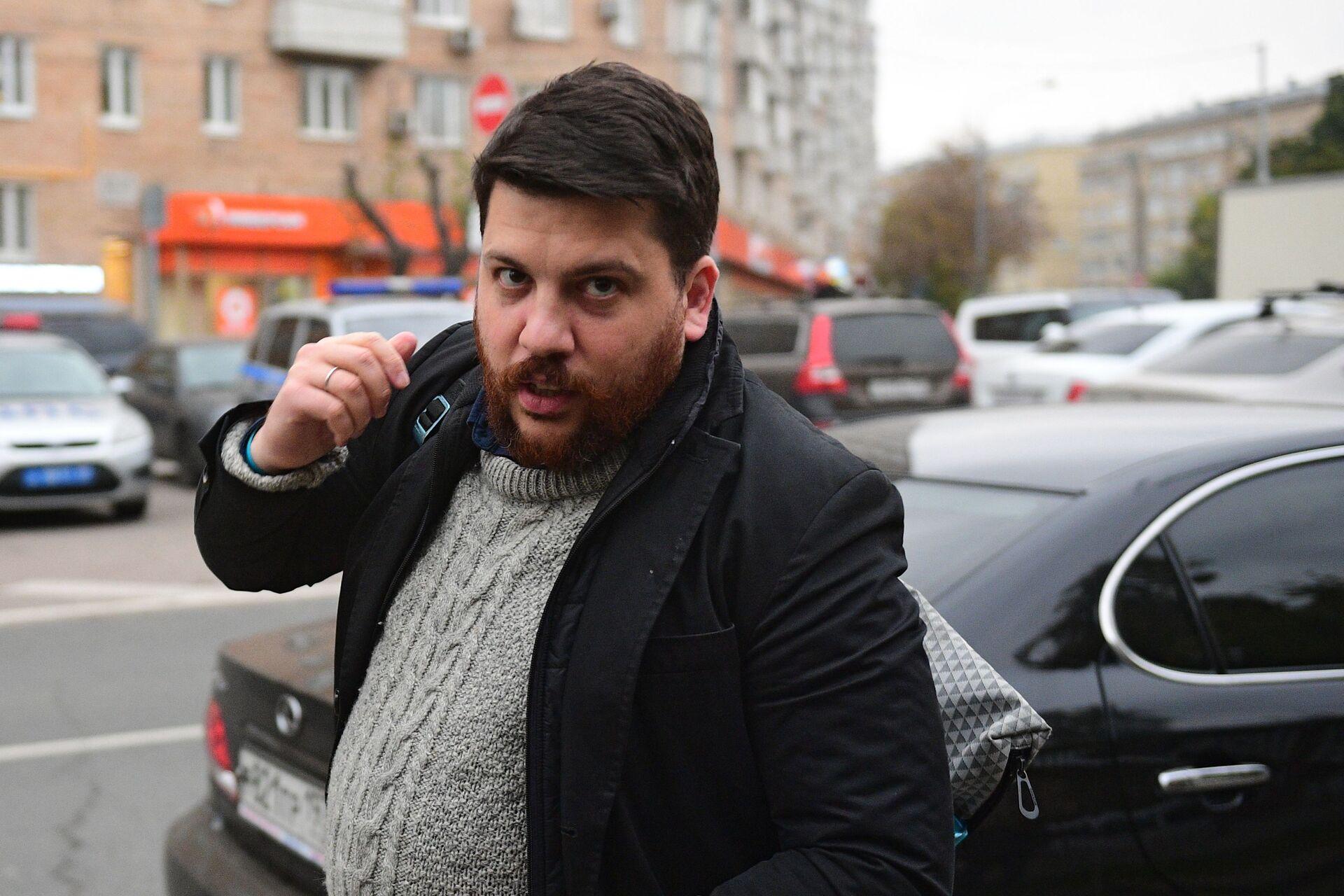 Рассмотрение административного дела в отношении Алексея Навального в Симоновском суде - Sputnik Azərbaycan, 1920, 01.10.2021