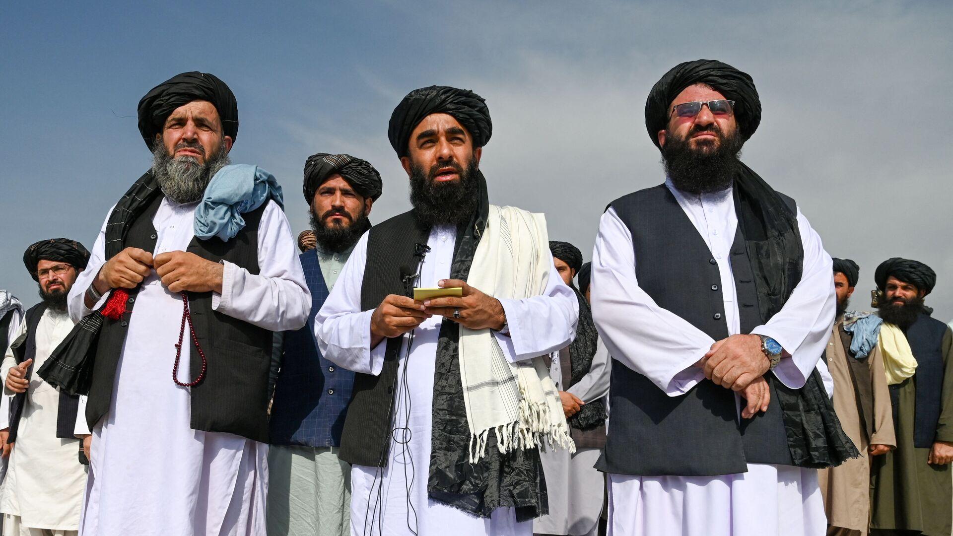 Представители движения Талибан (террористическая группировка, запрещеннфая в РФ) в Кабуле, фото из архива - Sputnik Azərbaycan, 1920, 16.09.2021