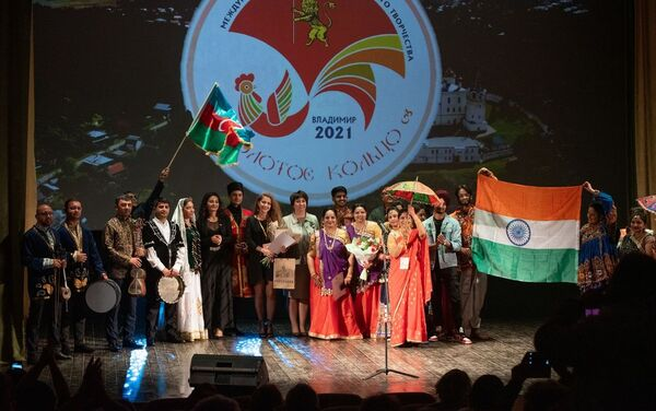 X Международный фестиваль народного творчества Золотое кольцо-2021 - Sputnik Азербайджан