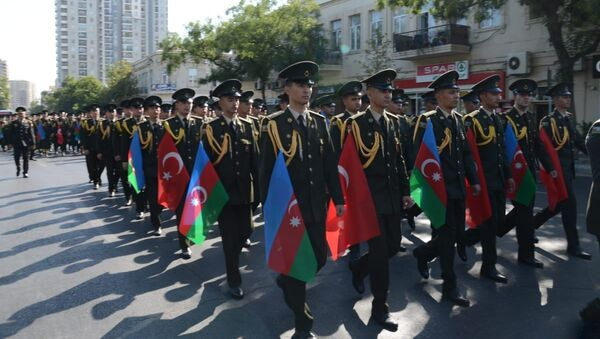 Yürüş - Sputnik Азербайджан