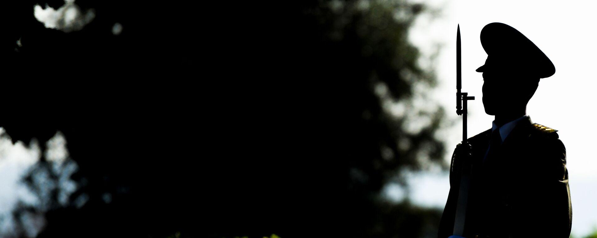 Bakının işğaldan azad olunmasının 103-cü ildönümü ilə bağlı paytaxtda yürüş, arxiv şəkli - Sputnik Azərbaycan, 1920, 09.10.2021