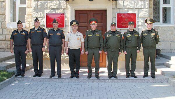 Рабочая встреча военных финансистов Азербайджана и Беларуси - Sputnik Азербайджан