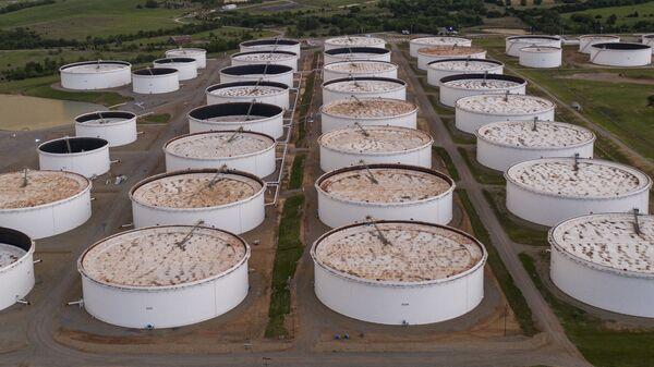 Газовое хранилище, фото из архива - Sputnik Азербайджан