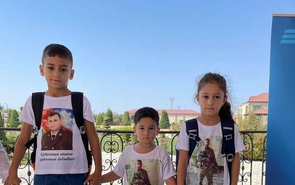В Физулинском районе Азербайджана прошла акция «Помоги собраться детям в школ - Sputnik Азербайджан