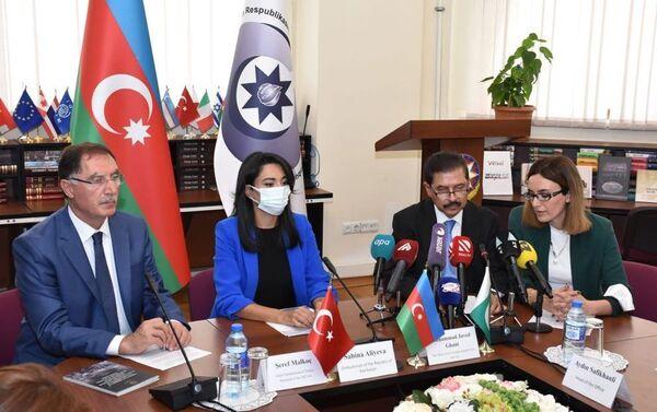 Во время встречи - Sputnik Азербайджан