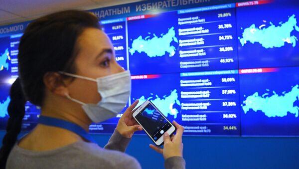 Rusiya Dövlət Dumasına seçkilər (2021) - Sputnik Азербайджан
