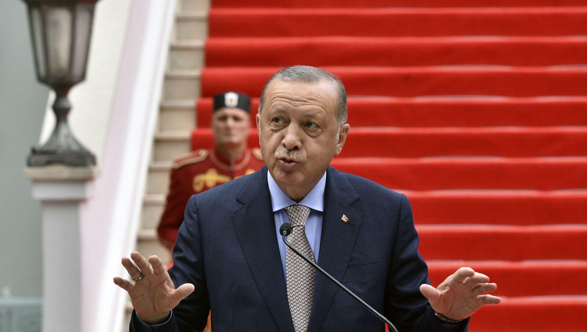 Президент Турции Реджеп Тайип Эрдоган, фото из архива - Sputnik Azərbaycan, 1920, 21.09.2021