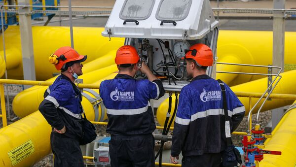 Амурский газоперерабатывающий завод - Sputnik Азербайджан