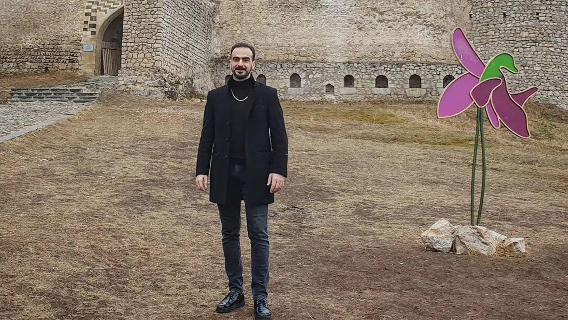 Заслуженный артист Азербайджана, тарист Шахрияр Иманов - Sputnik Азербайджан, 1920, 21.09.2021
