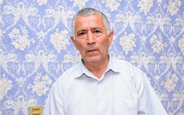 Şəhidin atası Əli Məmmədov - Sputnik Azərbaycan