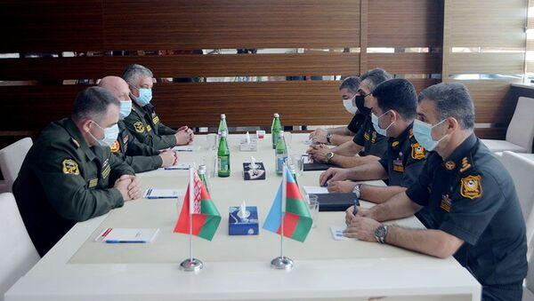 Состоялась рабочая встреча военно-медицинских специалистов Азербайджана и Беларуси - Sputnik Азербайджан