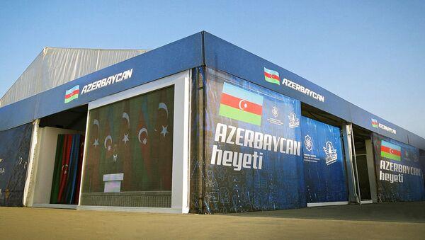 Азербайджанские стартапы на аэрокосмическом и технологическом фестивале Технофест - Sputnik Азербайджан
