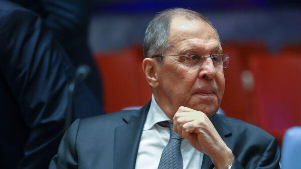 Министр иностранных дел Российской Федерации Сергей Лавров  - Sputnik Азербайджан