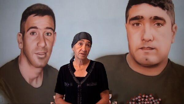 """Şəhid anası: """"Əli və İslamdan mənə qalan bu muzey oldu"""" - Sputnik Azərbaycan"""