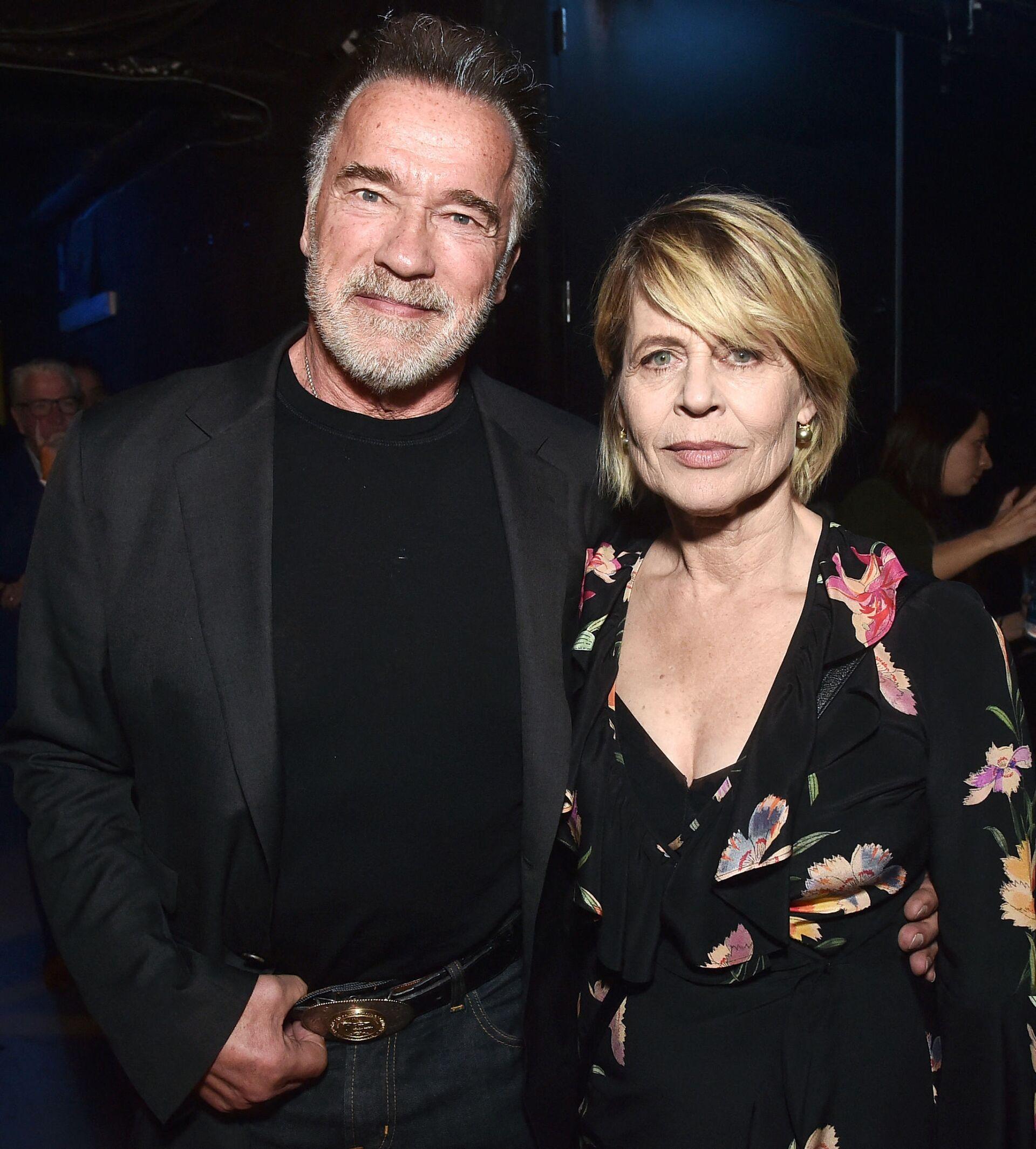 Арнольд Шварценеггер и Линда Хемильтон на CinemaCon 2019 - Sputnik Азербайджан, 1920, 01.10.2021