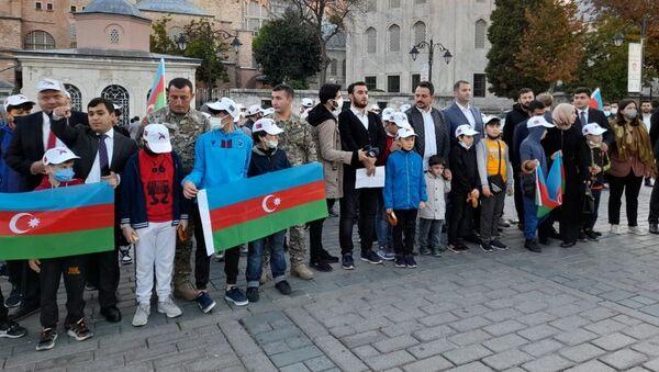 Vətən müharibəsi şəhidlərinin xatirəsi İstanbulda anılıb - Sputnik Azərbaycan