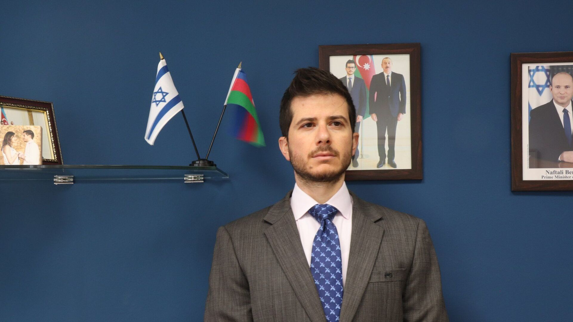 Посол Израиля в Азербайджане Джордж Дик  - Sputnik Азербайджан, 1920, 27.09.2021