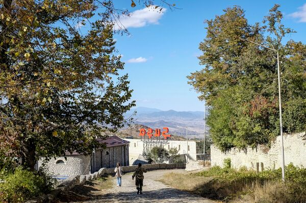 Вид на город Шуша - Sputnik Азербайджан