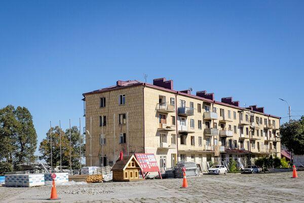 Жилое здание в Шуше - Sputnik Азербайджан