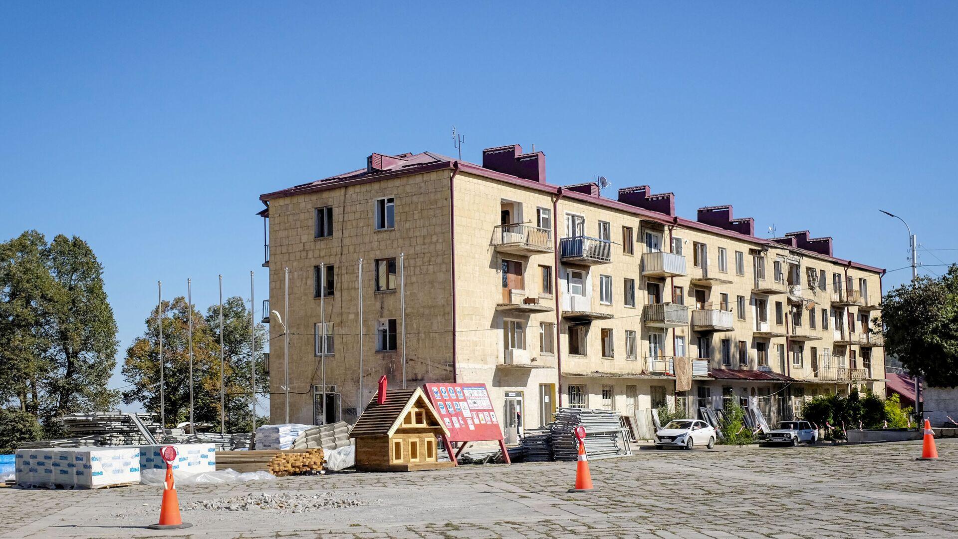 Şuşada yaşayış binası - Sputnik Azərbaycan, 1920, 28.09.2021