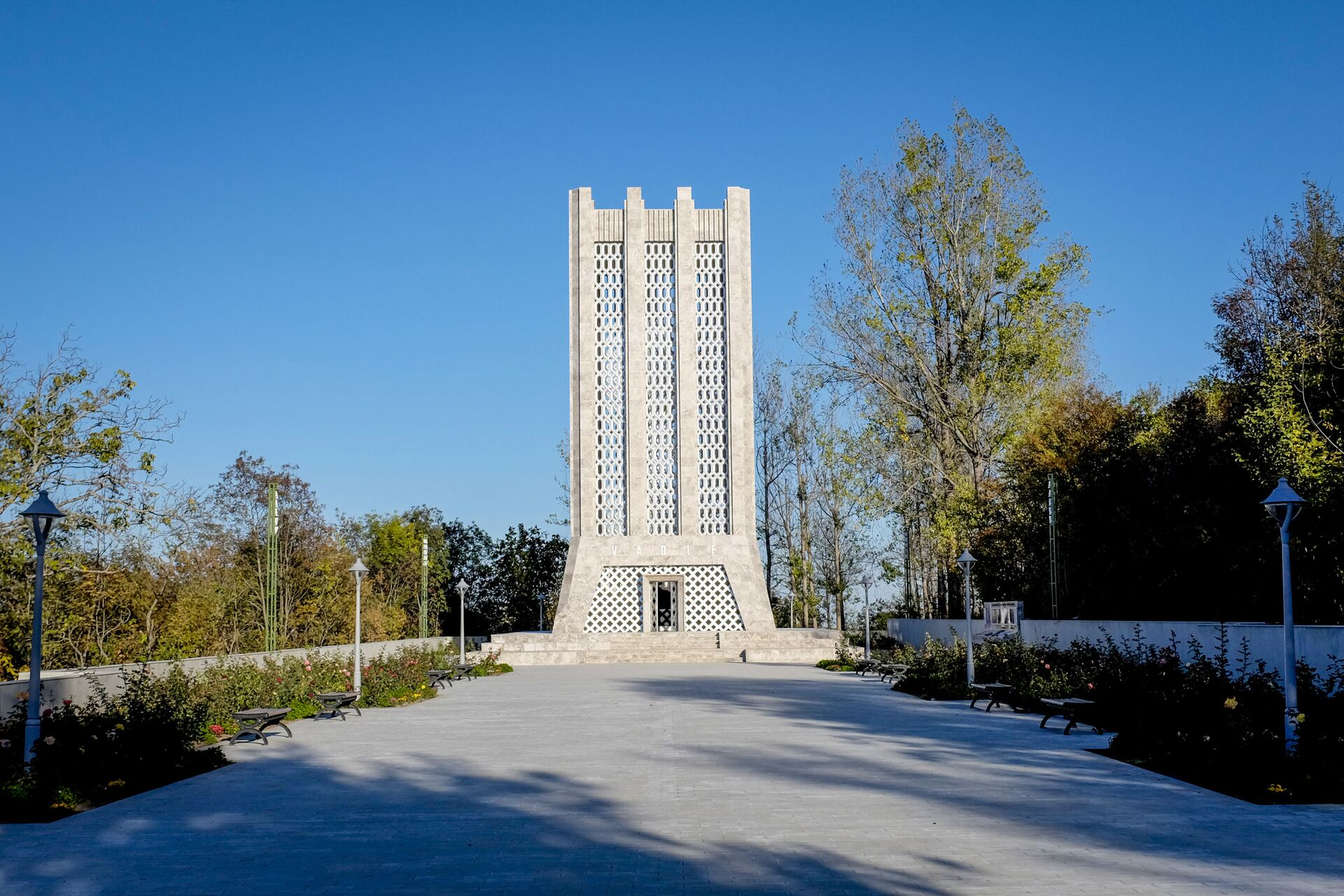 Şuşada Molla Pənah Vaqifin muzey-məqbərə kompleksi  - Sputnik Азербайджан, 1920, 01.10.2021
