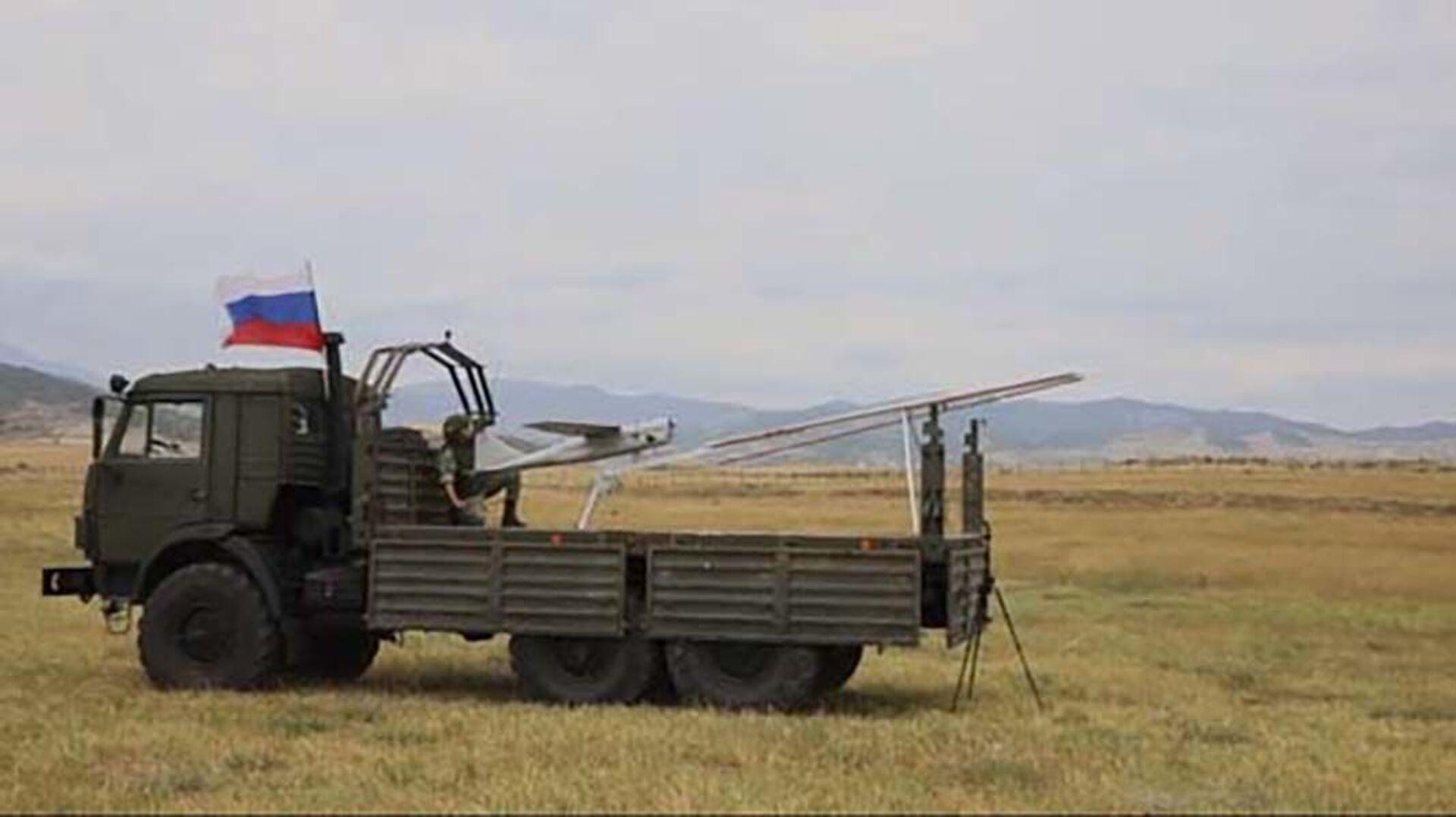 Работа расчета БпЛА «Орлан-10» - Sputnik Азербайджан, 1920, 28.09.2021