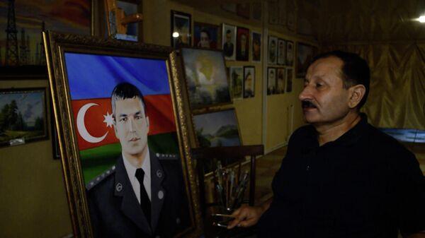 Пишет картины 35 лет, но не считает себя художником - Sputnik Азербайджан