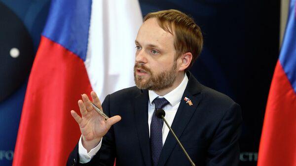 Министр иностранных дел Чехии Якуб Кулганек - Sputnik Азербайджан