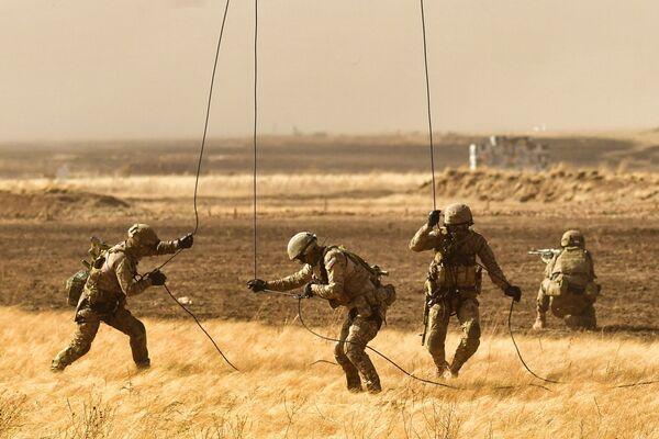 Антитеррористические учения стран – членов ШОС Мирная миссия  2021  - Sputnik Азербайджан