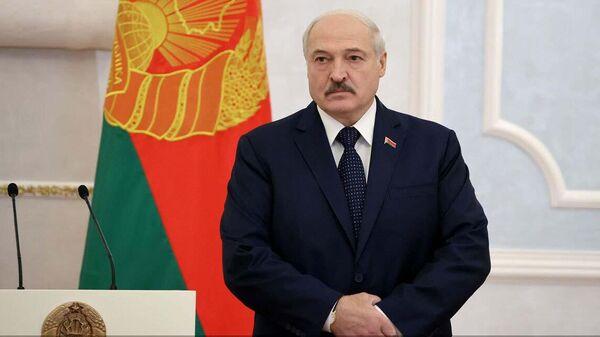 Президент Беларуси Александр Лукашенко - Sputnik Азербайджан