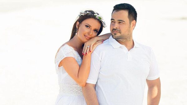 Певица Севда Яхьяева и ее муж Закир Байрамов - Sputnik Азербайджан