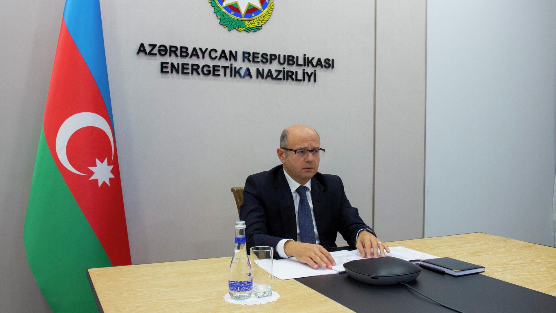 Министр энергетики Азербайджанской Республики Парвиз Шахбазов - Sputnik Азербайджан, 1920, 13.10.2021