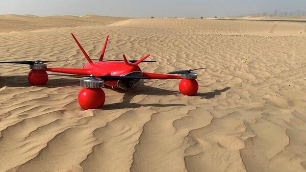 Беспилотник Seadrone для спасения людей успешно прошел испытания в Дубае - Sputnik Азербайджан
