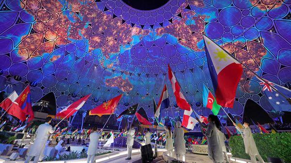 Церемония открытия Dubai Expo 2020 в ОАЭ   - Sputnik Азербайджан