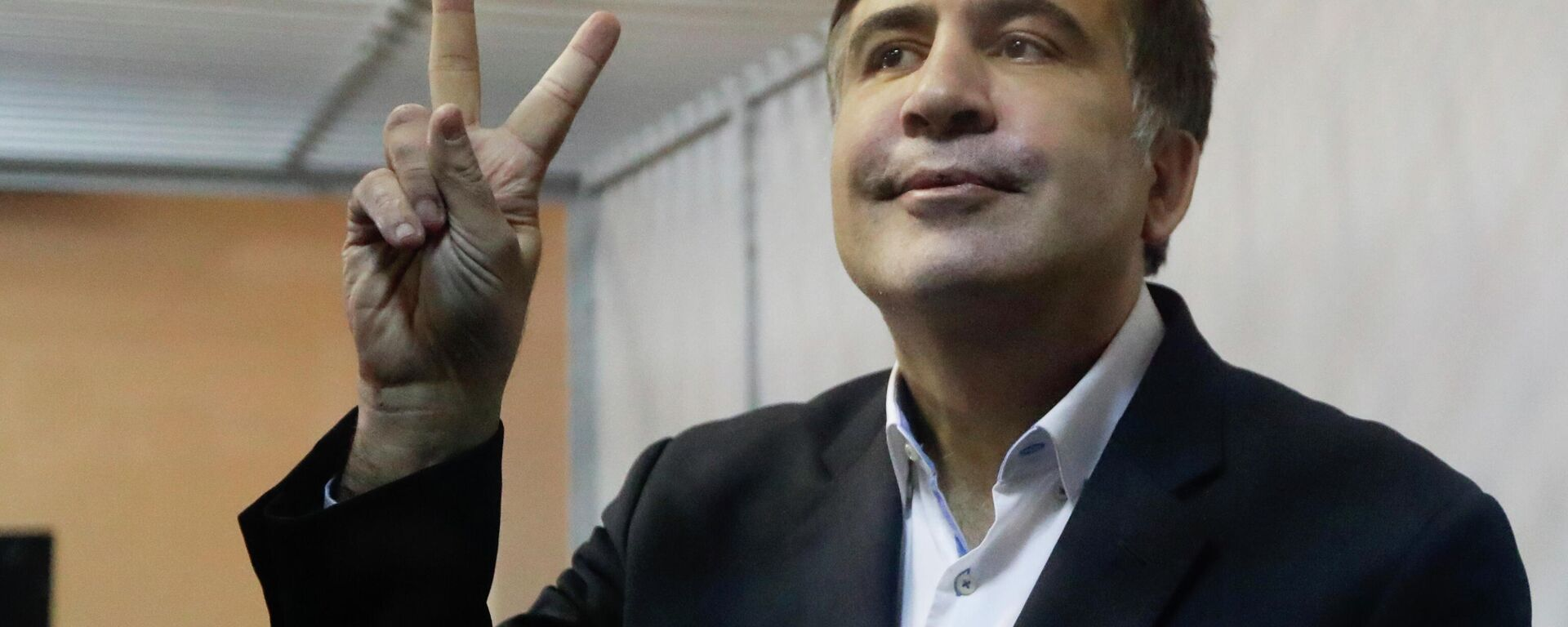 Mixail Saakaşvili, arxivdən foto - Sputnik Azərbaycan, 1920, 03.10.2021