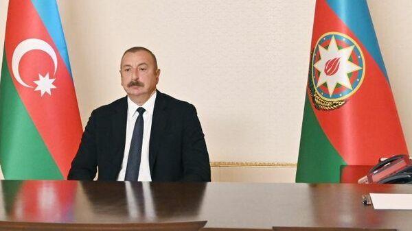 Президент Азербайджана Ильхам Алиев дал интервью испанскому информационному агентству EFE - Sputnik Азербайджан