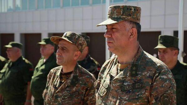 Заместитель начальника Генштаба ВС Армении Степан Галстян - Sputnik Азербайджан
