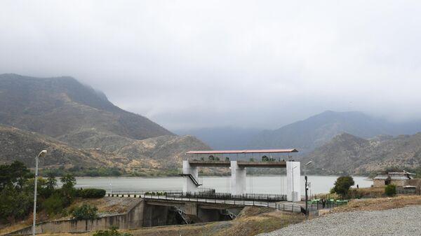 Суговушанская электрическая станция, фото из архива - Sputnik Азербайджан