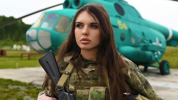 Российская певица Вероника Борисова  - Sputnik Азербайджан