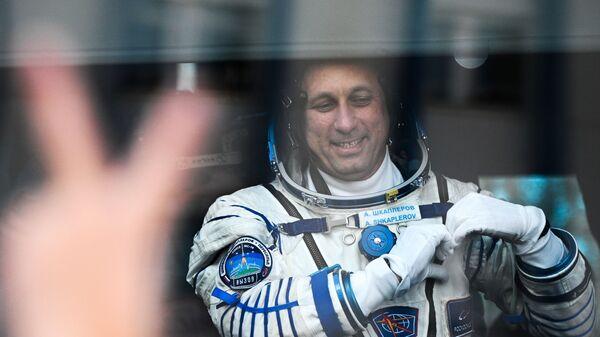 Beynəlxalq Kosmos Stansiyasına 66-cı ekspedisiyanın əsas heyət üzvləri - Sputnik Azərbaycan