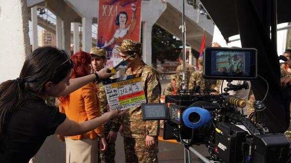 Сьемки фильма Крик-2 - Sputnik Азербайджан