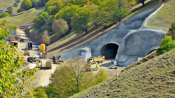 Строительство тоннеля под Муровдагом - Sputnik Азербайджан