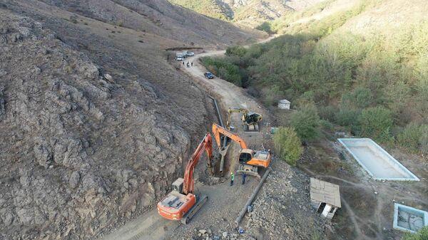 Реконструкция систем снабжения питьевой водой города Шуша - Sputnik Азербайджан