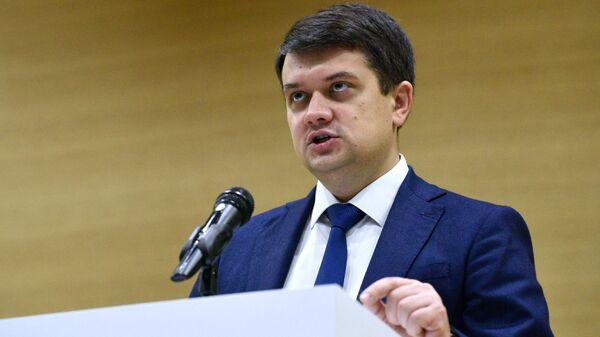 Ukrayna Ali Radasının sədri Dmitri Razumkov  - Sputnik Azərbaycan